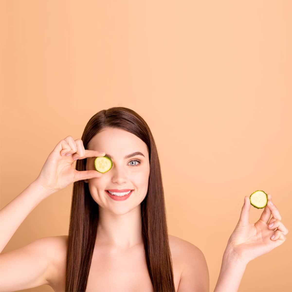 Cucumber girl