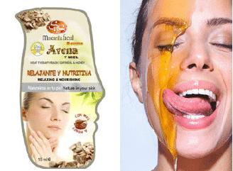 Mascarilla Facial SYS Avena y Miel