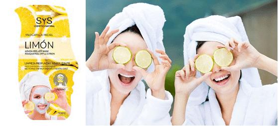 Mascarilla Facial SYS Limón