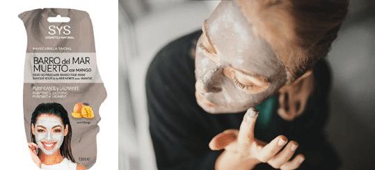 Mascarilla Facial Barro del Mar Muerto y Mango SYS
